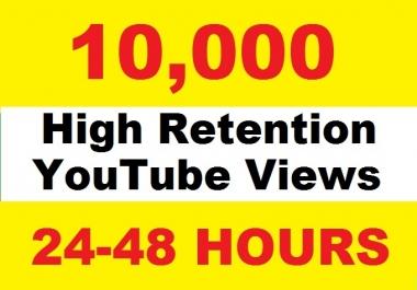10000 to 11000 Youtube Views