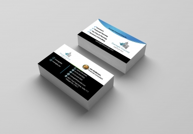I will design professional double side business card within 24 hours with PSD file