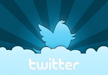Let 5000 Real and active People Follow you on Twitter