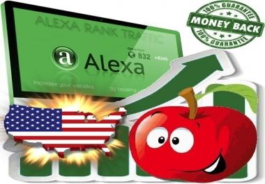 Increase your USA Alexa Rank
