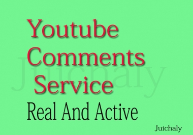 Add 150 Costum Comments To Your YouTube Video