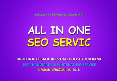 All In One Ultimate SEO Link Building Service