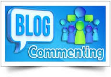 2017 SEO technique 100 relevant Blog Comments..