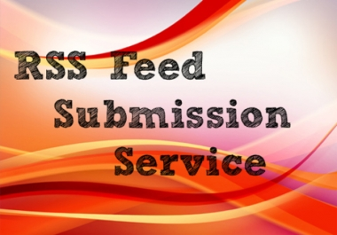 I will submit your website feed to top 10 RSS feed submission sites manually