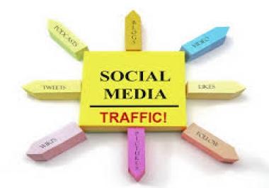 I will provide 24000  Social Media Traffic......