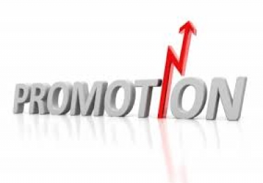 socially media promotion to your website..