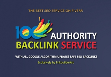 Domain Authority Stacking 100 Pr9-5 Up Backlinks From High Authority Domains