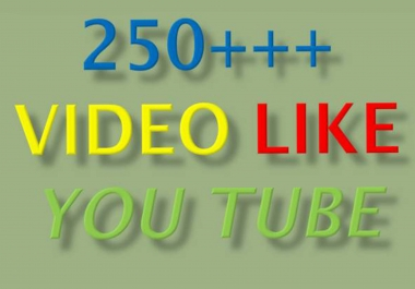Bumper offer 250 + youtube likes Real and human, very farist only
