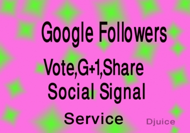 I will provide 515+ USA Based Real & permanent Google Plus Ones