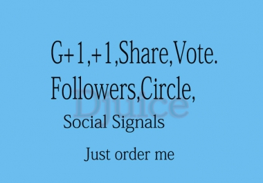will you provide 400 Google Plus Vote to your website