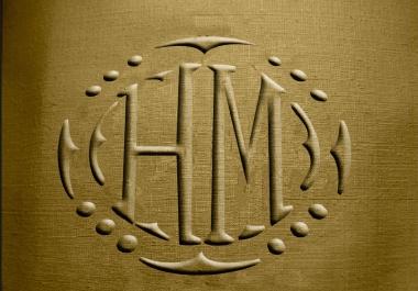 I will design a modern logo