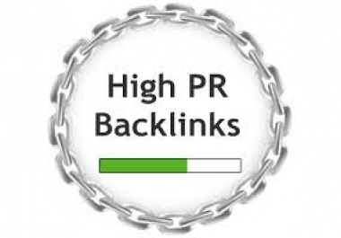 write 3 unique contents and create 40 high PR backlinks manually...