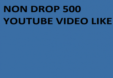 Instant 1000+ Real You,tube Video like with 24 hours
