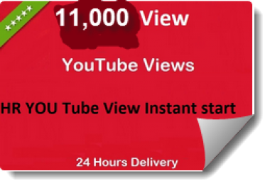 Get Fast 11,000-12,000 Youtube view only