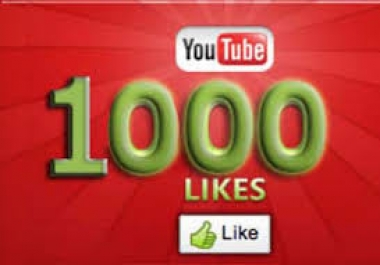 Safe Video! Add 1000+ Youtube Video Likes On your You-tube video