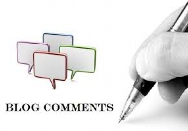 create 100 verified high pr blog comments..