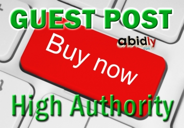Guest Post High Authority Backlink DA70+ Dofollow Link