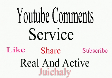 Add 125 YouTube Comments to your video