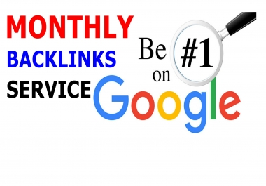 MONTHLY SPECIAL BACKLINK SERVICE BY SUVO SEO