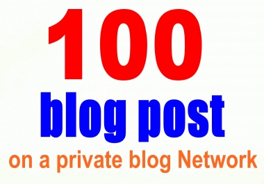 100+ Web 2.0 Authority PBN blog post From Top Web 2.0 Platforms And Sky Rocket Your Site