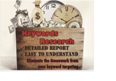 research and find the best low comp keywords