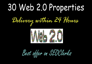 Get 30 High PR Web 2.0 Backlinks - The Villain Wheel Pack