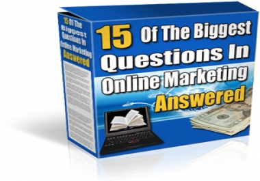 Top 15 Marketing FAQ