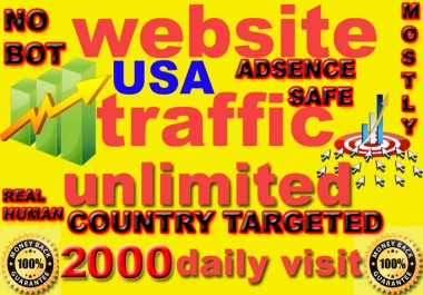 drive 60000 genuine real traffic to your website