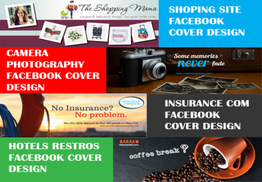 I will design KILLER professional Social Media Covers
