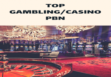 Permanent Homepage Backlinks on 2 very popular high DA PA Casino and Gambling Websites