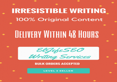 300 Word Hand-Written HQ Article, best for Web 2.0 Properties, PBN and even blogs