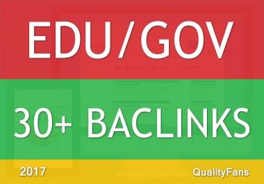 Rank Top On Google with 30 Edu/Gov High AUTHORITY Backlinks
