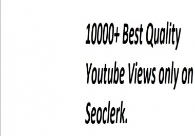 SUper Fast 10000 to 15000+ Best Quality HIgh Renention Views