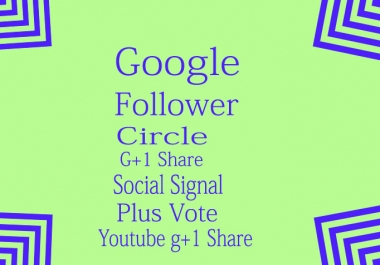 will deliver 107 Google shares For Seo Ranking only