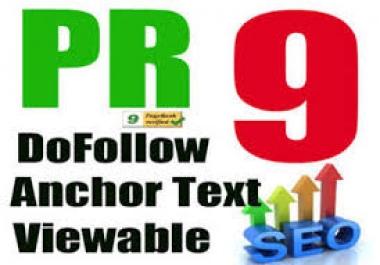 manually do 30 PR9 Safe SEO High Pr Backlinks 2015 Best Results !!!!!!