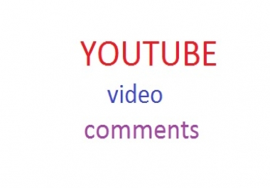 provide you youtube  35 comments