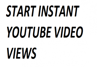 Safe 20000+ High Retention Youtube video views only