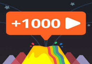 1050 views YouTub or 1100 Fast Profile  Follower... Any Social network