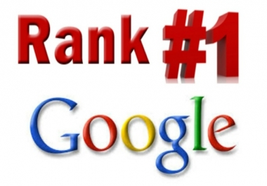 get you top in Google with our exclusive white hat SEO Service