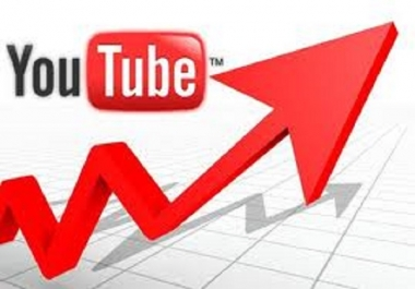 Get 1,000 High QualityYoutube video Views within Few Hours
