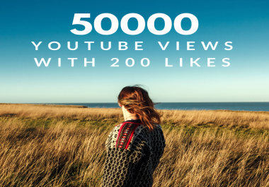 Get 240,000 Minutes Total Watching YouTube Views For Your Video