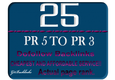 25 DoFollow Blog Comment Backlink Pr5 to PR3