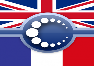 English to French translation [100 words]