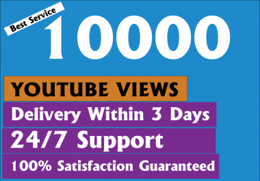 Cheapest 12000+ HR Youtube Views