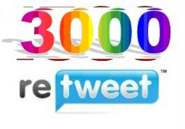 Provide 2000 Verified  & Super Quality Retweets or Favorites in your Link