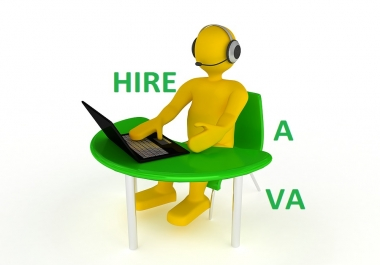 I will be Trusted Virtual Assistant for 1 hour for