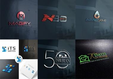 In 10 HRS, Design Modern, Professional, Minimalist, Custom logo