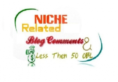 Skyrocket Niche Relevant Blog Comments 8 Unique Domain Backlinks