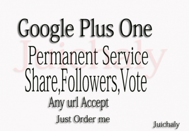 i can give you 500+ google pluse only