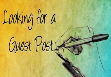 Guest Post your article to Quality PR 8 blog